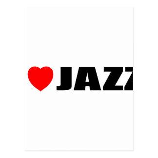 Amo jazz postales