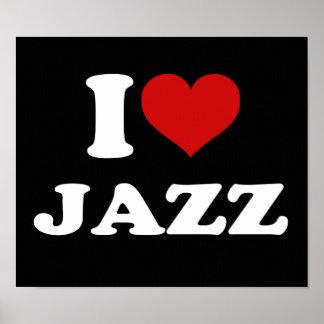 Amo jazz póster