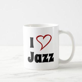 Amo jazz taza clásica
