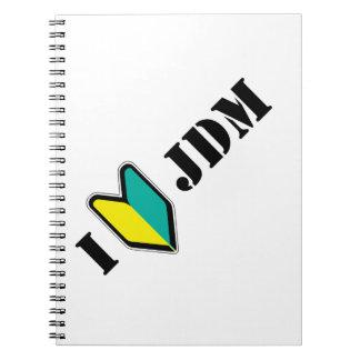 Amo JDM Cuadernos