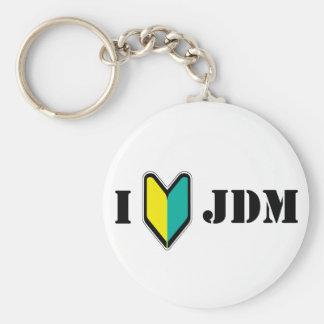 Amo JDM Llavero Redondo Tipo Pin