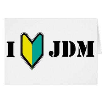 Amo JDM Felicitaciones