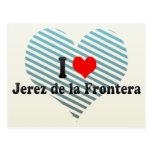 Amo Jerez de la Frontera, España Postales