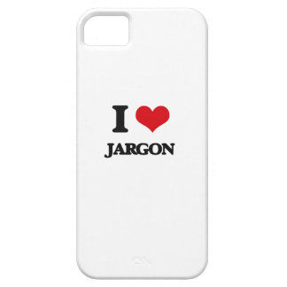 Amo jerga iPhone 5 carcasas