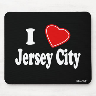 Amo Jersey City Alfombrilla De Raton