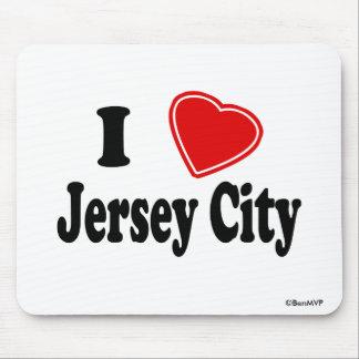 Amo Jersey City Alfombrilla De Ratón