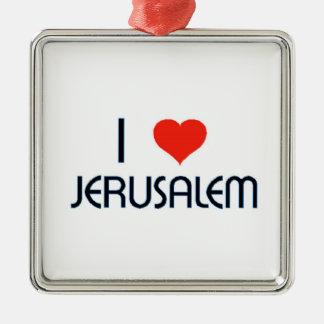Amo Jerusalén Adornos