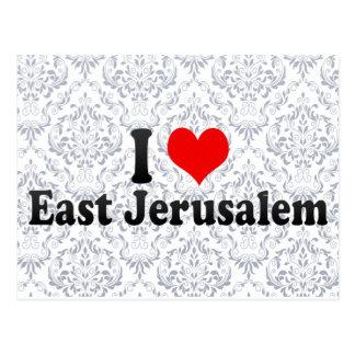 Amo Jerusalén oriental, territorio palestino Tarjeta Postal