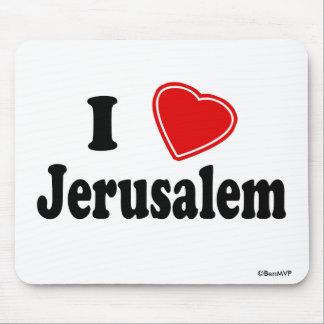 Amo Jerusalén Tapetes De Ratones