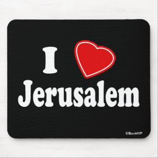 Amo Jerusalén Alfombrilla De Raton