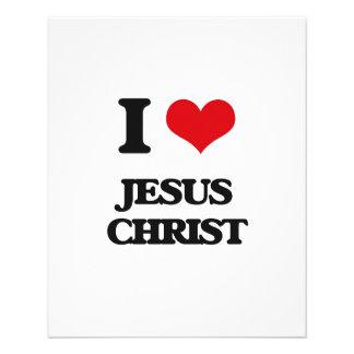 Amo Jesucristo Tarjeta Publicitaria