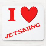 Amo Jetskiing Alfombrillas De Ratones