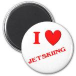 Amo Jetskiing Imanes Para Frigoríficos