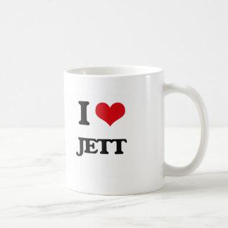 Amo Jett Taza Básica Blanca