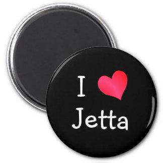 Amo Jetta Imán De Frigorífico