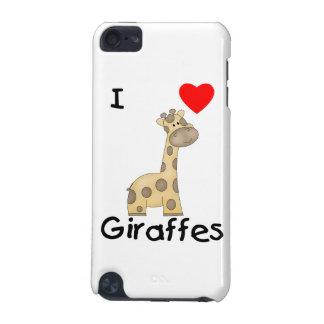 Amo jirafas (2) funda para iPod touch 5G