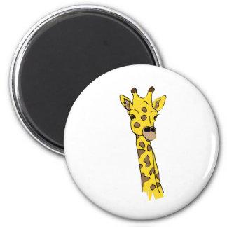 ¡Amo jirafas! Imán De Nevera