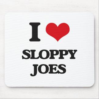 Amo Joes descuidado Mousepad