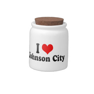 Amo Johnson City, Estados Unidos Jarras Para Caramelos