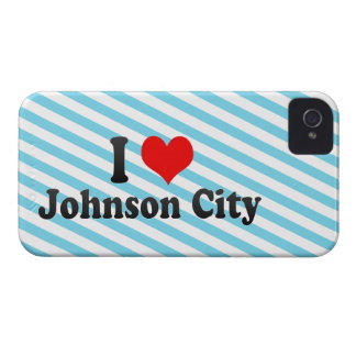 Amo Johnson City, Estados Unidos iPhone 4 Case-Mate Funda