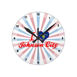 Amo Johnson City, Oregon Relojes De Pared