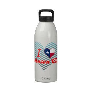 Amo Johnson City, Tejas Botellas De Agua Reutilizables