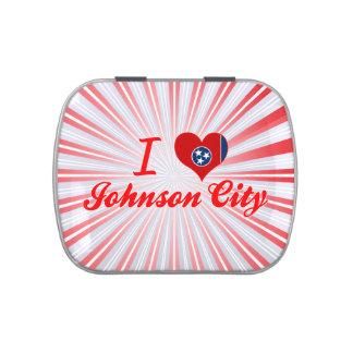 Amo Johnson City, Tennessee Frascos De Caramelos