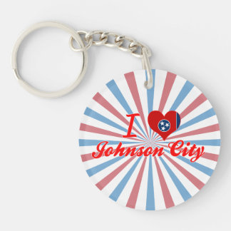 Amo Johnson City, Tennessee Llaveros