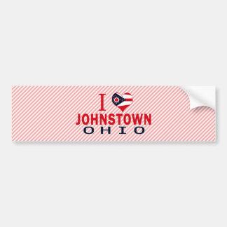 Amo Johnstown, Ohio Pegatina Para Auto