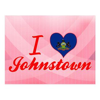 Amo Johnstown, Pennsylvania Tarjeta Postal