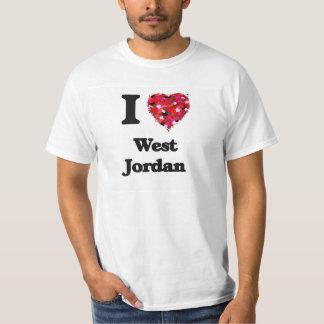 Amo Jordania del oeste Utah Playera