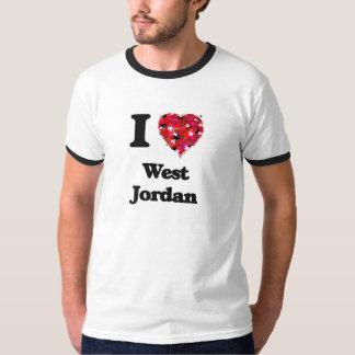 Amo Jordania del oeste Utah Playeras