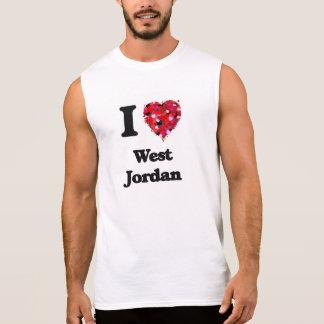 Amo Jordania del oeste Utah Playeras Sin Mangas