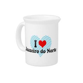 Amo Juazeiro hago Norte el Brasil Jarron