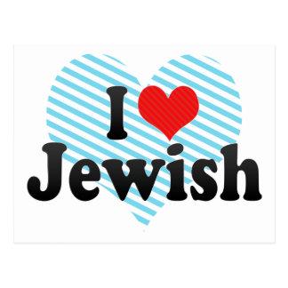 Amo judío tarjeta postal
