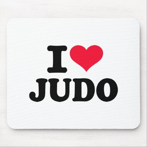 Amo judo alfombrillas de ratón