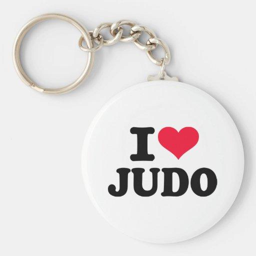 Amo judo llavero personalizado