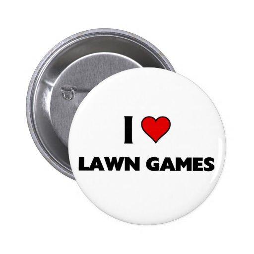 amo juegos del césped pin redondo 5 cm