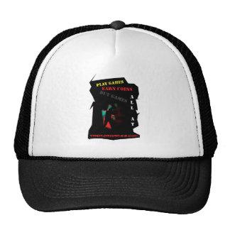 Amo juegos del temblor gorras de camionero