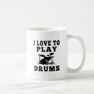 Amo jugar los tambores tazas