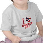 Amo Junction City, Ohio Camisetas