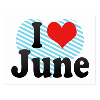 Amo junio postales
