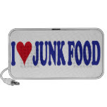 Amo Junk Food Notebook Altavoces