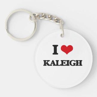 Amo Kaleigh Llavero Redondo Acrílico A Una Cara