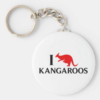 Amo KangaROOS Llaveros Personalizados