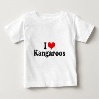 Amo KangaROOS Remeras