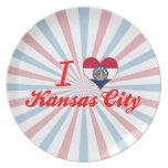 Amo Kansas City, Missouri Plato De Cena