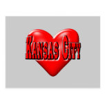 Amo Kansas City Postales