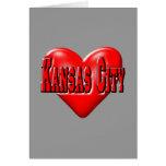 Amo Kansas City Tarjeta