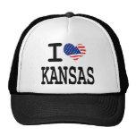 Amo Kansas Gorras De Camionero